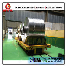 industrial apply railway guided electric flat car on rails with quality service