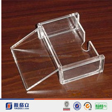 wholesale transparent clear acrylic business card case/display/box/holder with simple design