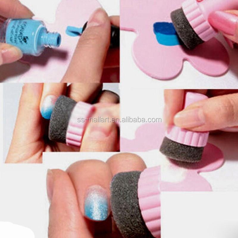Nail Stamping Plates Nail Art Sponge Kit For Stamp Manicure Stamping