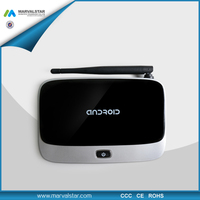 Shenzhen Quad Core Smart Android 4.4 mini pc tv RK3188T