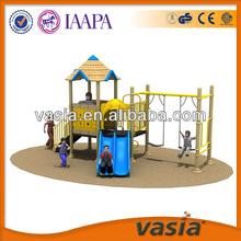 Outdoor kids swing play equipment