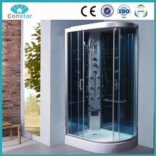 120x80 low base hotel project commercial shower cabin