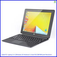 8.5mm Super Thin Windows 10 Tablet PC+Laptop 2 in 1/WIFI/3G SIM/USB/OTG/Bluetooth V4.0/10 inch Tablet With Keyboard