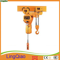 New Machinery Used 1 ton 5 ton Electric Chain Hoist 380V 50HZ