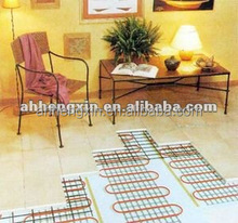 single/twin conductor heating mat system for kitchen and bathroom