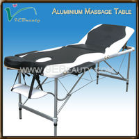 massage table with beauty design/massage bed plastic headrest