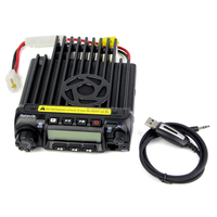 UHF 400-490MHz 200CH 50 CTCSS/1024 DCS 8 Groups Scrambler Retivis RT-9000D Mobile carHam Radio Transceiver+programming cable