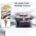 alta capacidade de gelo creme cone de bolacha que faz a máquina comercial de sorvete máquina de biscoito wafer