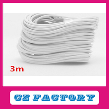 MFI Certificated 100% 3M 8 Pin USB Data Sync Charger Cable Lead For Apple iPhone 6 plus 5 5C 5S iPad in White