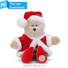 Professional custom christmas plush toy
