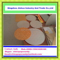 JH Series Wholesale Round Silver Gold Foil Cake Boards/Weeding Cake Base