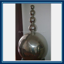 Top quality best-selling stainless steel decorative/ indoor outdoor garden decoration of stainless steel Water ball spray