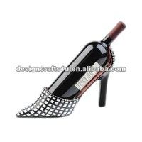 polyresin stiletto shoe wine bottle holder
