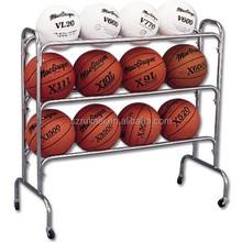 Fashionable Multi Layer Basketball Football Display Shelf