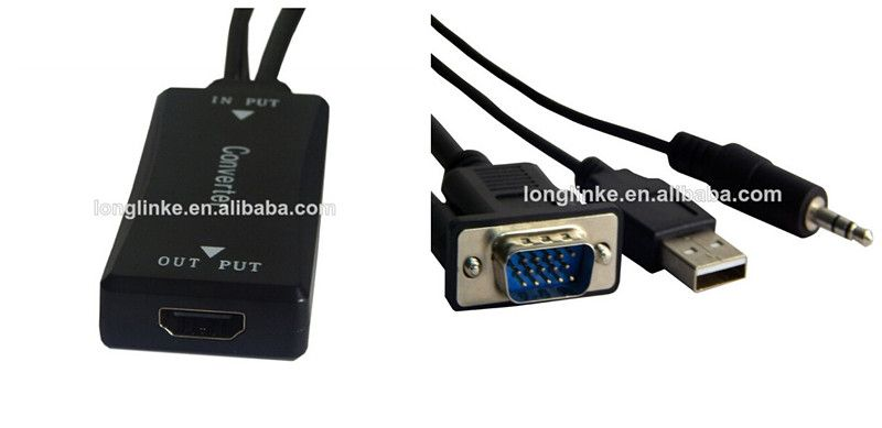 New design s-video vga rca to hdmi converter s-video vga rca to hdmi converter New design