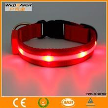 led usb rechargeable dog collarsr/led dog collar dog leashes sex dog/led dog collar