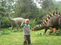 Tamanho natural Animatronic dinossauro de controle remoto