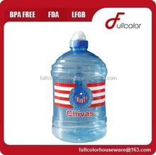 BPA Free PET 1L 2L Water Jug