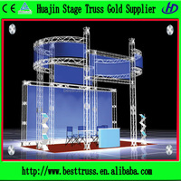 2015 hot sale high quantity wholesale aluminum truss trade show booth