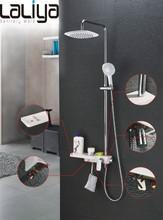 2015 new modern design set bathroom shower faucet