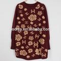 2014 jacquard camisas blusas das mulheres europeias moda venda quente do natal jumper