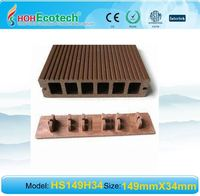 WATERPROOF Wood Plastic Composite decking/flooring outdoor wpc composite decking with clip/accessories WPC Flooring