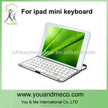 3 in 1 Aluminum Wireless Bluetooth Keyboard Case Stand Bluetooth Keyboard for iPad 2