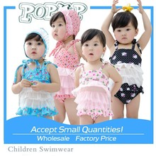 Forme hola a gatito lindo encaje sketch niñas trajes de baño Tankini precio de fábrica Kids dos piezas traje de baño
