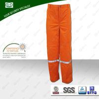 hot factory wholesale 100% cotton work welding EN11611 flame retardant pants