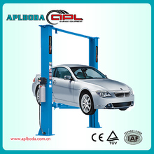 Two Level 2 Post Tilt Lift/ double stack system/ hydraulic car lift