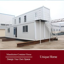 Solid Modern Prefab Furnishing prefab shipping container home villa