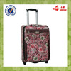 2015 New Design Wholesale Alibaba Rose PU Colorful Competitive Price Trolley Case