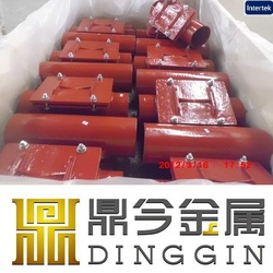EN877 cast iron pipe fittings good price ITS epoxy powder hot sale