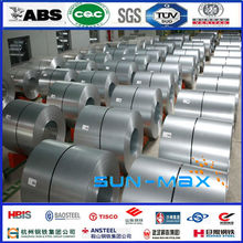 High quality made in china competitive price zinc coated cold rolled steel coil