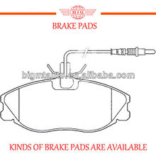 front axle STB brand brake pad for CITROEN series saloon cars
