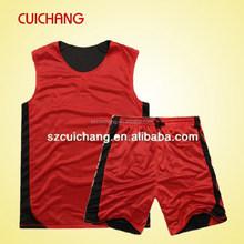 2015 fashion cheeap basketball uniform LQF-003