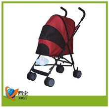 big suitable quality fabric pet dog stroller for traveling