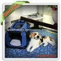 Portable pet travel carrier