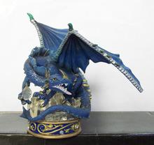 dragón de resina con alas