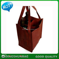 Alibaba china new arrival non-woven wine bottle bag