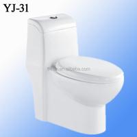 one piece ceramic toilet sanitary ware