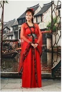 прямой продажи секунд убить шелка женщины древнего китайского костюма dj Тан костюм hanfu элегантная одежда Сексуальные девушки