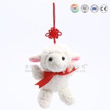 Mini stuffed animal key ring & animal design key chains & mini toys animals pendant