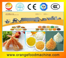 Chicken/meat /seafood recipe bread crumbs white and yellow equipment