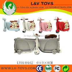 3 wheeled kids trolley luggage