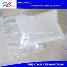 Lowest price transparent Oil/Water packaging bag in box