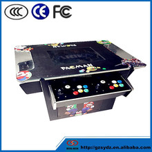 HOT SELLING 60 In 1 Amusement Park Electronic Mini Cocktail Table Arcade Game Machine with best quality
