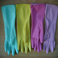 beautiful cheap household rubber latex gloves