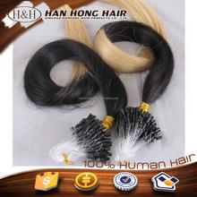 Cheap Vigin Remy Brazilian Micro Braid Hair Extensions 100 Human Hair Top Quality Double Beads Micro Ring Loop Hair Extension