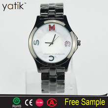 NEW MJ Women's Color Letter Brand Gold-Tone Stainless Alloy Steel WristWatch